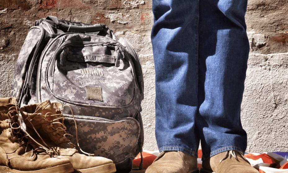 Rucksack im Militärlook - Kompakter Stauraum und optischer Hingucker